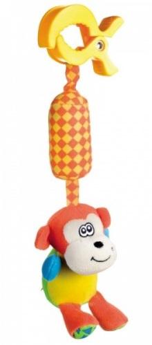Купить Игрушка-подвеска с колокольчиком Canpol babies 'Обезьянка'