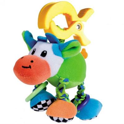 Игрушка-погремушка вибрирующая Canpol babies 'Коровка'