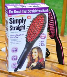Подарок Расческа-выпрямитель Simply Straight