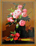 Подарок Картина на холсте по номерам 'Розалии'