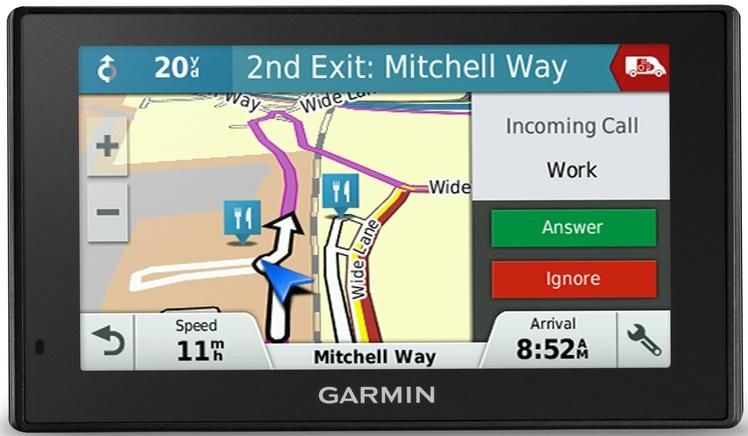 GPS-навигатор Garmin DriveAssist 50 EU LMT