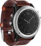 Спортивные часы Garmin Fenix 3 Sapphire Silver with Leather Band