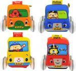 Игровой набор K's Kids 'Инерционные мягкие авто'