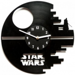 Подарок Часы настенные 'Галактика Star Wars'