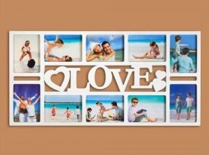 Подарок Фотоколлаж на 10 фото 'Любовь'