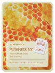 Подарок Маска для лица Tony Moly Pureness 100 Propolis Mask Sheet Skin Soothing