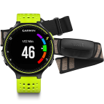 Спортивные часы Garmin Forerunner 230 Yellow-Black Bundle (010-03717-53)