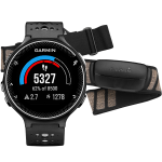 Спортивные часы Garmin Forerunner 230 Black-White Bundle (010-03717-46)