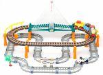 LiXin Железная дорога и автострада - набор с поездом и машинкой 74х60 см (9910)