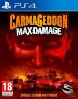 игра Carmageddon Max Damage PS4