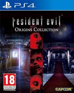 игра Resident Evil Origins Collection PS4