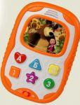 Телефон 'Маша и медведь. Бебифончик' развивающий, русский язык (MM-706)