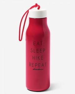 Подарок Спортивная бутылка для воды Eddie Bauer 00431 Stainless Steel Graphic Bottle Rouge 700ml