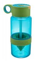 Подарок Уникальная бутылка для самодельного лимонада или цитрусовых напитков (зеленый) 450 мл