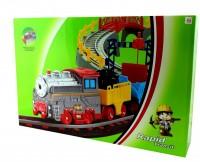 LiXin Железная дорога с поездом 103 х 95 см (9904)
