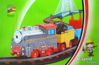 LiXin Железная дорога с поездом 118 х 51 см (9908)