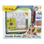Магнитная доска K's Kids 'Doodle Studio' для рисования с логическими карточками (10656)