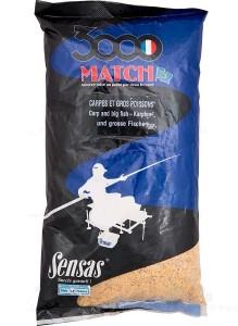 Прикормка Sensas 3000 Match Carр & Big Fish 1 кг
