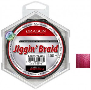 Шнур Dragon Jiggin Braid (0.14mm 135m 12.7kg)