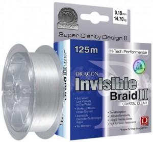 Шнур Dragon Invisible Draid 2 (0.08mm 125m 5.05kg)