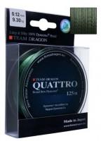 Шнур Dragon Team Quattro (0.18mm 125m 15.85kg)