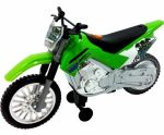 Мотоцикл Toy State 'Kawasaki KLX 140 Moto-Cross Bike' со светом и звуком 25 см (33412)
