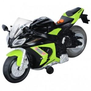 Мотоцикл Toy State 'Kawasaki Ninja ZX-10R' со светом и звуком 25 см (33411)