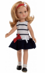 Кукла Paola Reina 'Даша' в полосатом платье