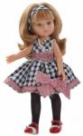 Кукла Paola Reina 'Карла' в платье в клеточку