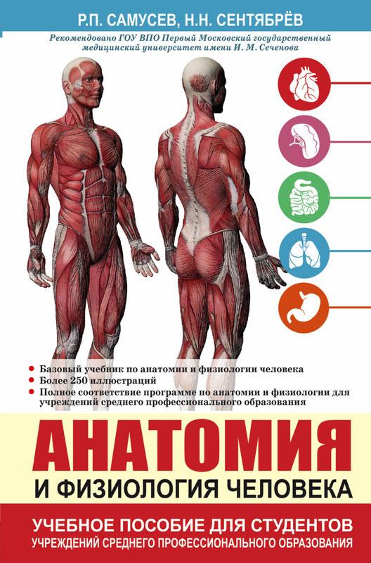 Купить Анатомия и физиология человека. Учебное пособие, Николай Сентябрев, 978-5-17-096066-8