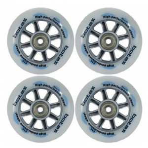 Колеса для роликов In-Line Botas Stratos 90 (4 шт) 90 мм 84A HP