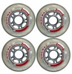Колеса для роликов In-Line Botas (4 шт) 80мм 82А