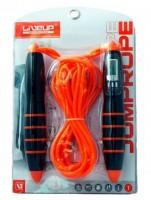 Скакалка с электронным счетчиком LiveUp (LS3128)
