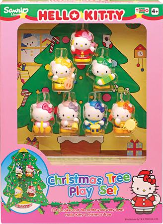 Купить Игровой набор 'Рождественская ёлка', Hello Kitty