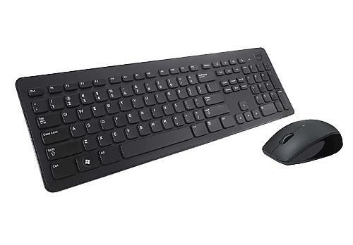 Комплект Dell KM632 оптическая клавиатура с мышкой RU (580-ADFN)