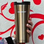 фото Термос-чашка Starbucks 'Smart Cup' золото (480 мл) #2