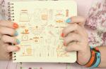 Кулинарная книга 'Cookbook' + комплект наклеек