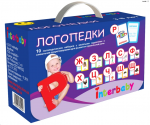 Набор логопедических карточек Чемодан Логопедки Interbaby (ч01)