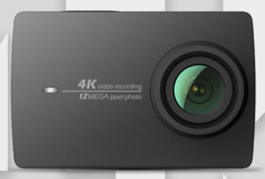 Экшн-камера Xiaomi Yi 4K camera Travel International Edition, Remote control. Black