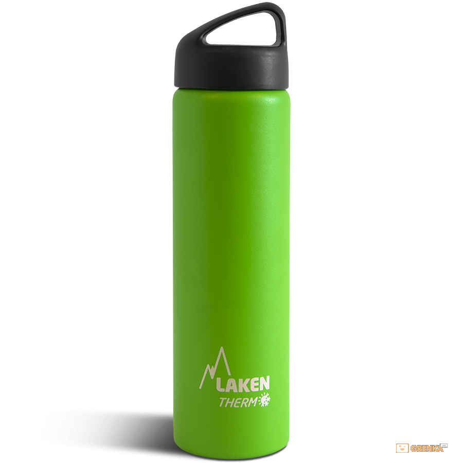 Купить Термофляга Laken Classic Thermo 0.75 L Green