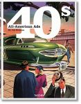 Книга All-American Ads of the 40s