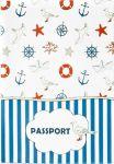 Подарок Обложка для паспорта 'Морская'