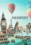 Подарок Обложка для паспорта 'Вокруг света'