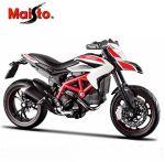 Модель мотоцикла Maisto 1:12 Ducati 2013 Hypermotard SP White