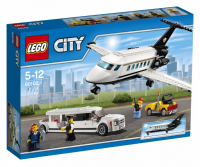 Конструктор LEGO 'Грузовой Самолет В Аэропорту' (60102)
