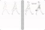 фото страниц Скетчбук 'Малюємо людину' (бузковий) #4