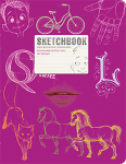 Книга Скетчбук 'SketchBook' (малиновий)
