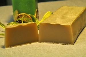 Подарок Натуральне мило 'Зелена глина'