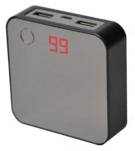 фото Внешнее зарядное устройство Power Bank DOCA D525 (8400mAh), чёрный #5