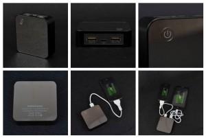 фото Внешнее зарядное устройство Power Bank DOCA D525 (8400mAh), чёрный #7